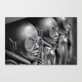 Giger Scultpure Canvas Print