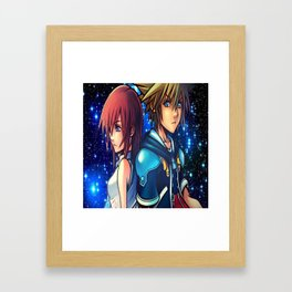 KINGDOM OF HEARTS Framed Art Print