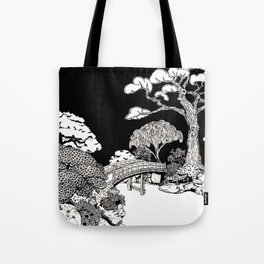 Japanese Garden Tote Bag