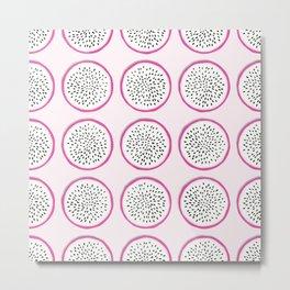 Dragon fruit pattern 02 Metal Print
