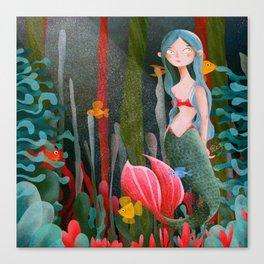 BTATO_Mermaid Canvas Print