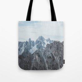 Italian Dolomites Tote Bag