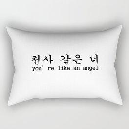 LIKE AN ANGEL Rectangular Pillow