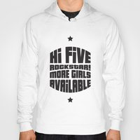 gta Hoodies featuring HI FIVE ROCKSTAR (GTA V) by Radu Negara