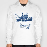 finland Hoodies featuring Hinaaja (Finland) Gay Slang Collection. Blue. by Moscas de colores