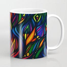 Flowers in Flame Coffee Mug