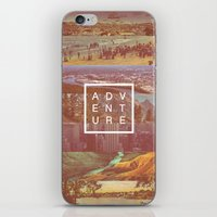 adventure iPhone & iPod Skins featuring Adventure by Zeke Tucker