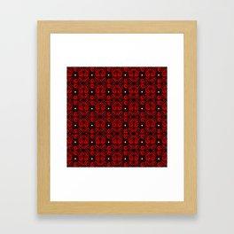 Red Gothic Framed Art Print