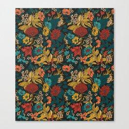 Amaryllis Autumn Canvas Print