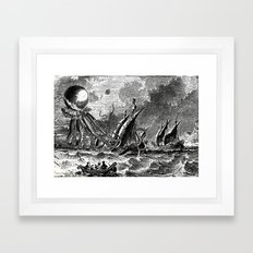 They're Here Framed Art Print