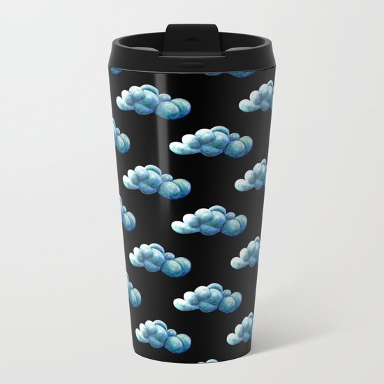 Cloud Tied Metal Travel Mug