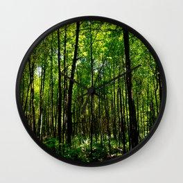 Green breeze Wall Clock