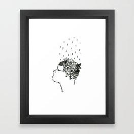 Mental Growth Framed Art Print