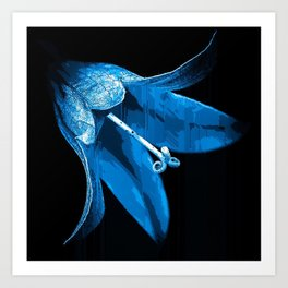 Bell Flower. Art Print