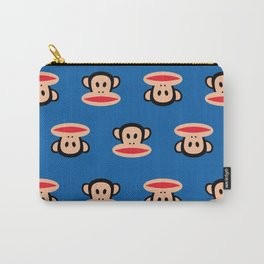Julius Monkey Pattern by Paul Frank - Dark Blue Carry-All Pouch