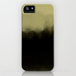 golden lime & graphite iPhone Case