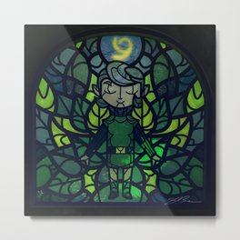 Sage of Forest Metal Print