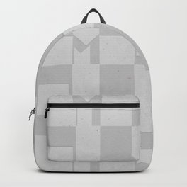 Light Gray Domio Deco Backpack