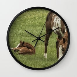 Itchy Leg Wall Clock