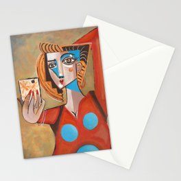 I'm Adorable Picasso Style Selfie Stationery Cards