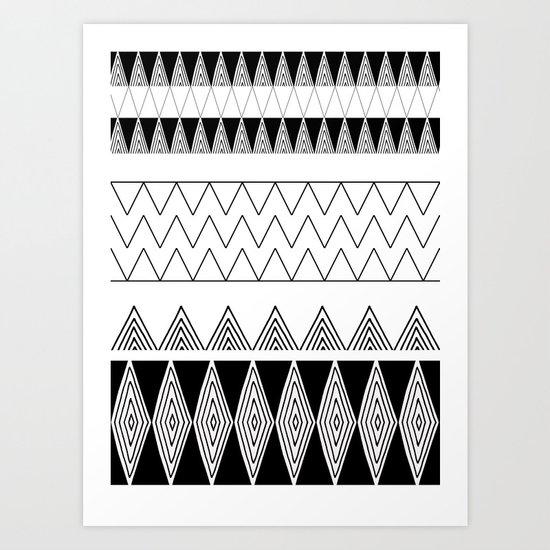 Goose eye 2 Art Print