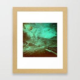 Birthing of Planets Framed Art Print