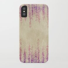 Deep in the woods iPhone X Slim Case