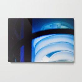 Blue Light District Metal Print