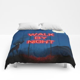 Walk by Night Comforters