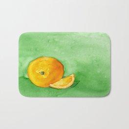 Orange Slice Bath Mat