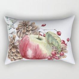Winter Composition 2 Rectangular Pillow