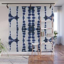 Boho Tie-Dye Knit Vertical Wall Mural