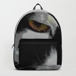 Black white cat II Backpack