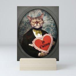 Je t'aime - Kitty Love Mini Art Print
