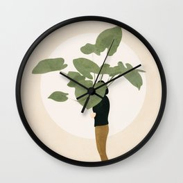 Too Litle for this Pot Wall Clock