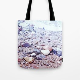 Colorful Stones by the Baltic Sea Tote Bag