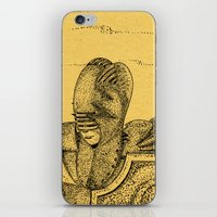 knight iPhone & iPod Skins featuring Knight by Red Drago