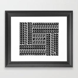 Gathering Clouds Framed Art Print
