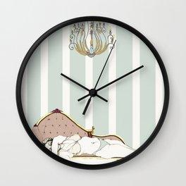 Chaise longue Wall Clock