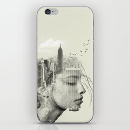 Reflection, New York City iPhone Skin