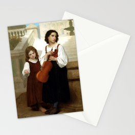 """William-Adolphe Bouguereau """"Far From Home"""" Stationery Cards"""