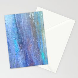 Edges of the Sky in Blues, Aquas and Green Stationery Cards