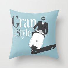 Grand Style Throw Pillow