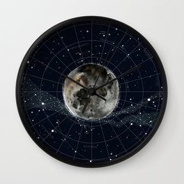 Pathfinder Night Wall Clock