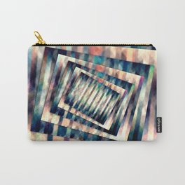 Rotating Grunge Rectangle Carry-All Pouch