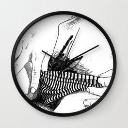 asc 472 - L'heure du repas (Feeding time) Wall Clock