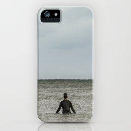 Sitting, Watching, Wishing. iPhone Case