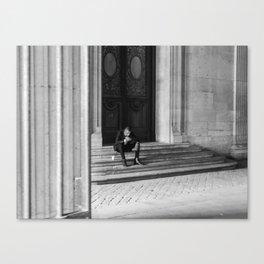 Tux Canvas Print