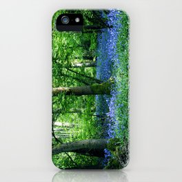 The Bluebell Dell iPhone Case
