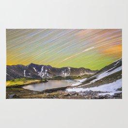 Loveland pass star trails Rug